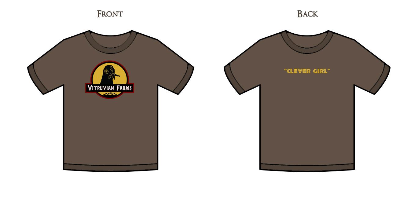 Jurassic Mary Shirt