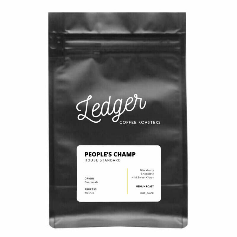 People's Champ - Ledger Coffee Roasters