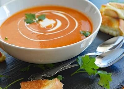 Heirloom Tomato Soup - Cadre Madison