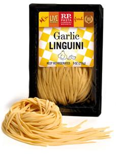 Garlic Linguini - RP Pasta