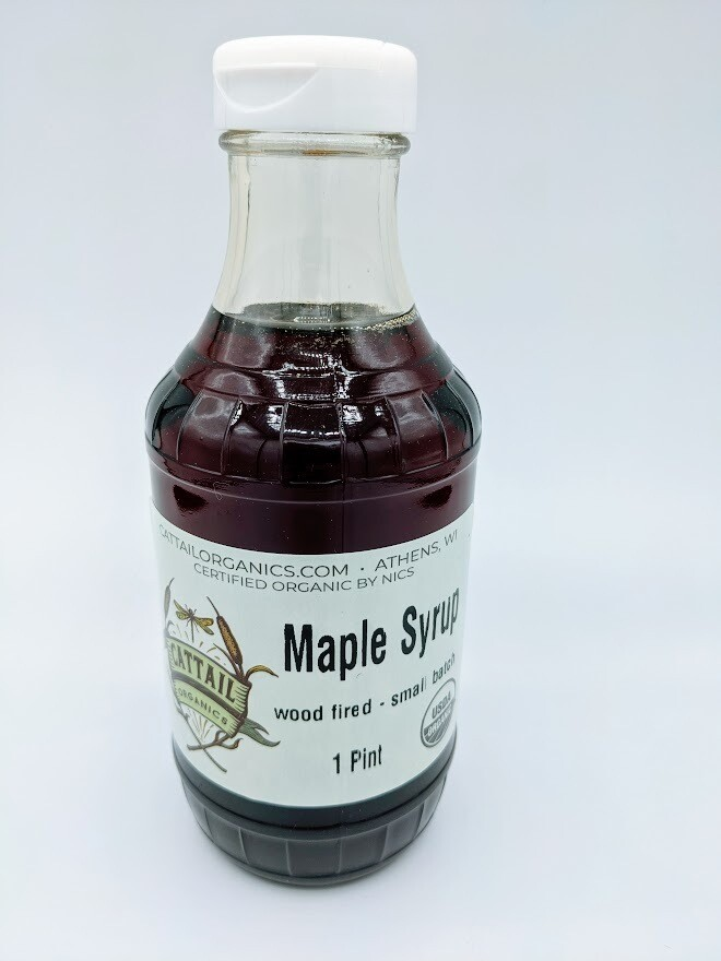 Maple Syrup (pt) - Cattail Organics