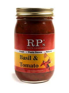 Basil and Tomato Sauce - RP Pasta