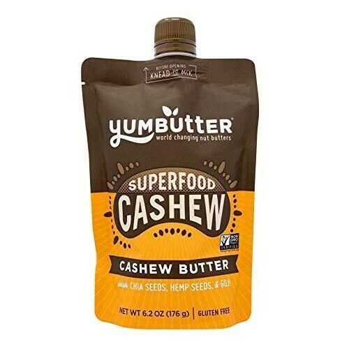 Superfood Cashew Butter - Yumbutter