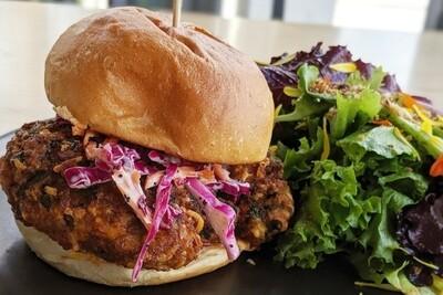 Black Bean/Walnut Burgers (2-pk) - Pasture and Plenty