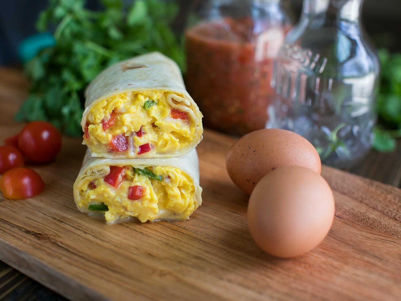 Breakfast Burritos (3pk) - Cadre Madison