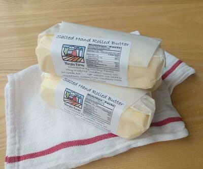 Hand Rolled Butter (1lb) - Murphy Farms