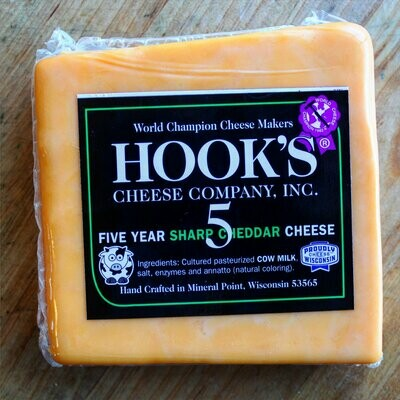 Aged Cheddar Cheese - Hook's