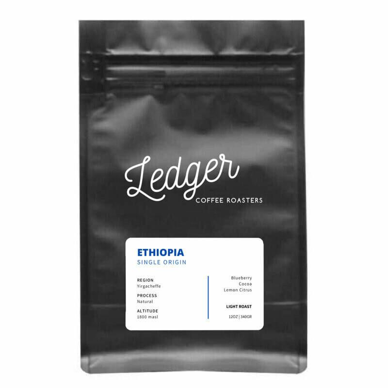 Ethiopia (Single Origin) - Ledger Coffee Roasters