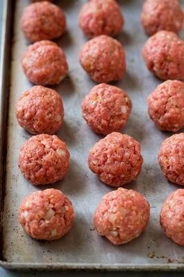 Sweet Italian Meatballs - Fox Heritage Farms