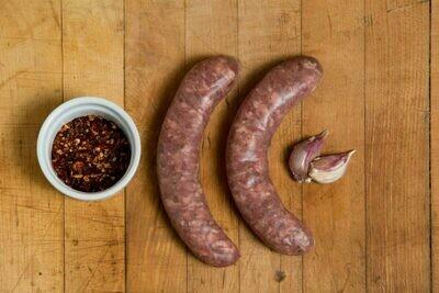 Lamb Sausage - Mapleton Mynd