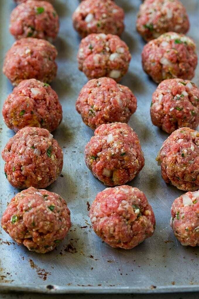 Hot Italian Meatballs - Fox Heritage Farms