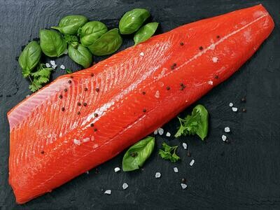 Sockeye Salmon Filet - Bering Bounty