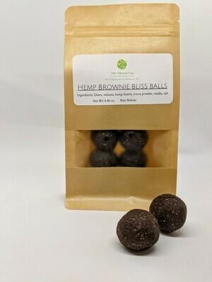 Hemp Brownie Balls - The Vibrant Veg