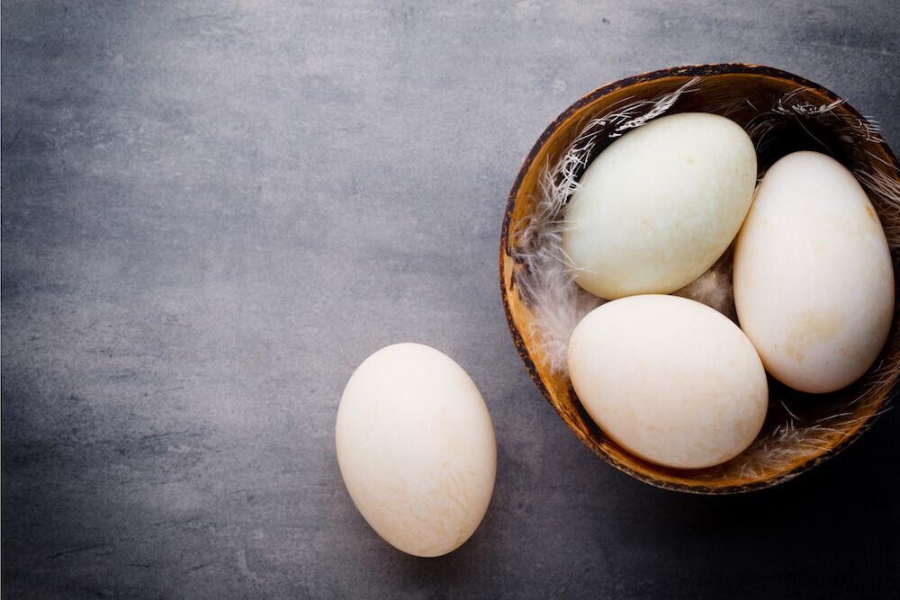 Duck Eggs (1/2 Dozen) - Bryant Family Farm