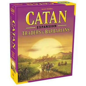 Settlers of Catan Traders and Barbarians