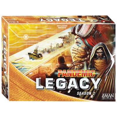 Pandemic Legacy Season 2 (Yellow)