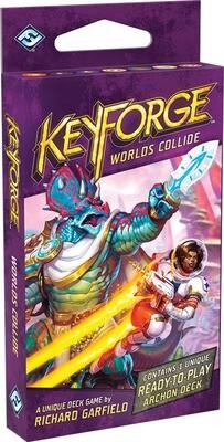 KeyForge Worlds Collide Deck