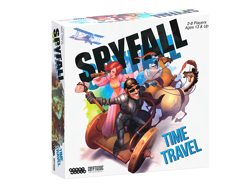 Spyfall Time Travel