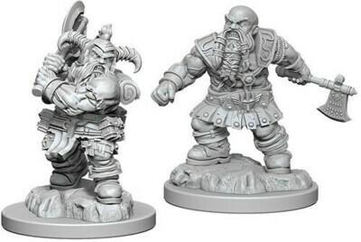 D&D Dwarf Barbarian