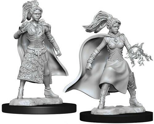 D&D Human Sorcerer Female