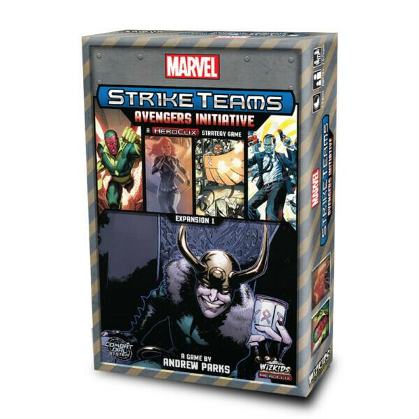 Marvel Strike Team Avengers Initiative