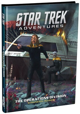 Star Trek Adventures  Operations Divisions HC