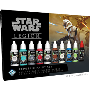 Star Wars Legion Republic Paint Set