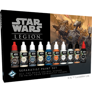 Star Wars Legion Separatist Paint Set