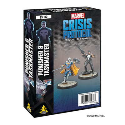 Marvel Crisis Protocol Punisher & Taskmaster