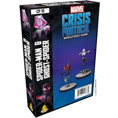Marvel Crisis Protocol Spider Man &Ghost Spider