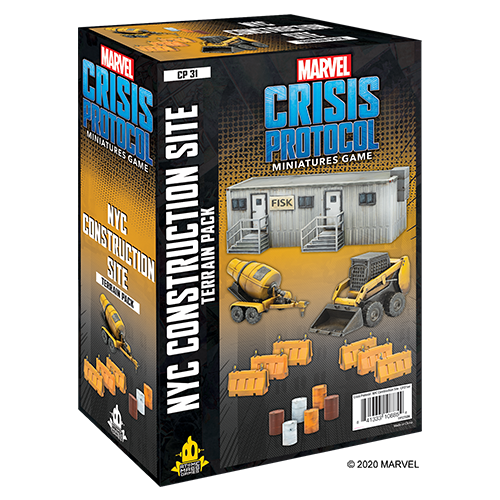Marvel Crisis Protocol NYC Construction Site