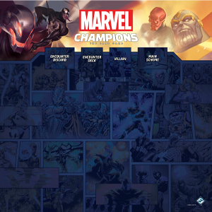Marvel Champions 4 Player Game Mat