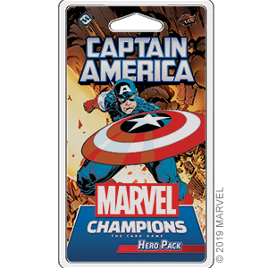 Marvel Champions Captain America Hero Pack