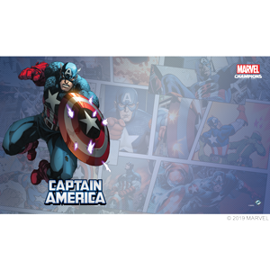Marvel Champions Captain America Game Mat
