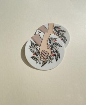 OG Coffee at Large Sticker