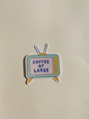 CAL Pastel TV Sticker