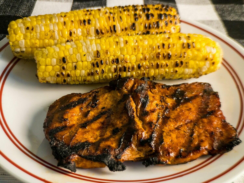 Pork Chops- BBQ Boneless Butterfly