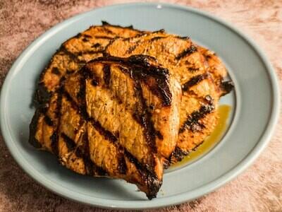Pork Chops - Cranberry Maple
