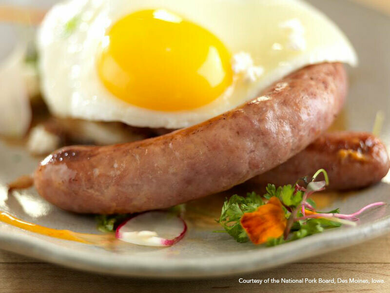 Pork Sausage Links Blueberry Maple - Small Links