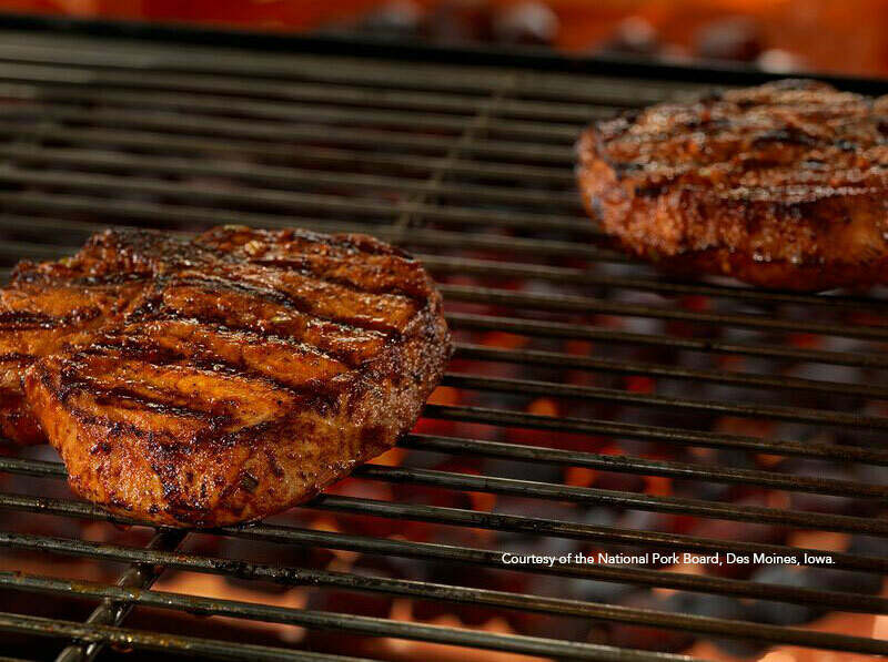 Pork Chops- BBQ Bone-In