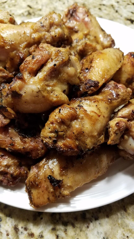 Chicken Wings - Garlic Pepper