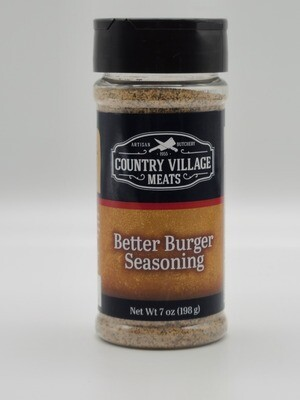 Country Village Meats - Better Burger Seasoning 7 oz.