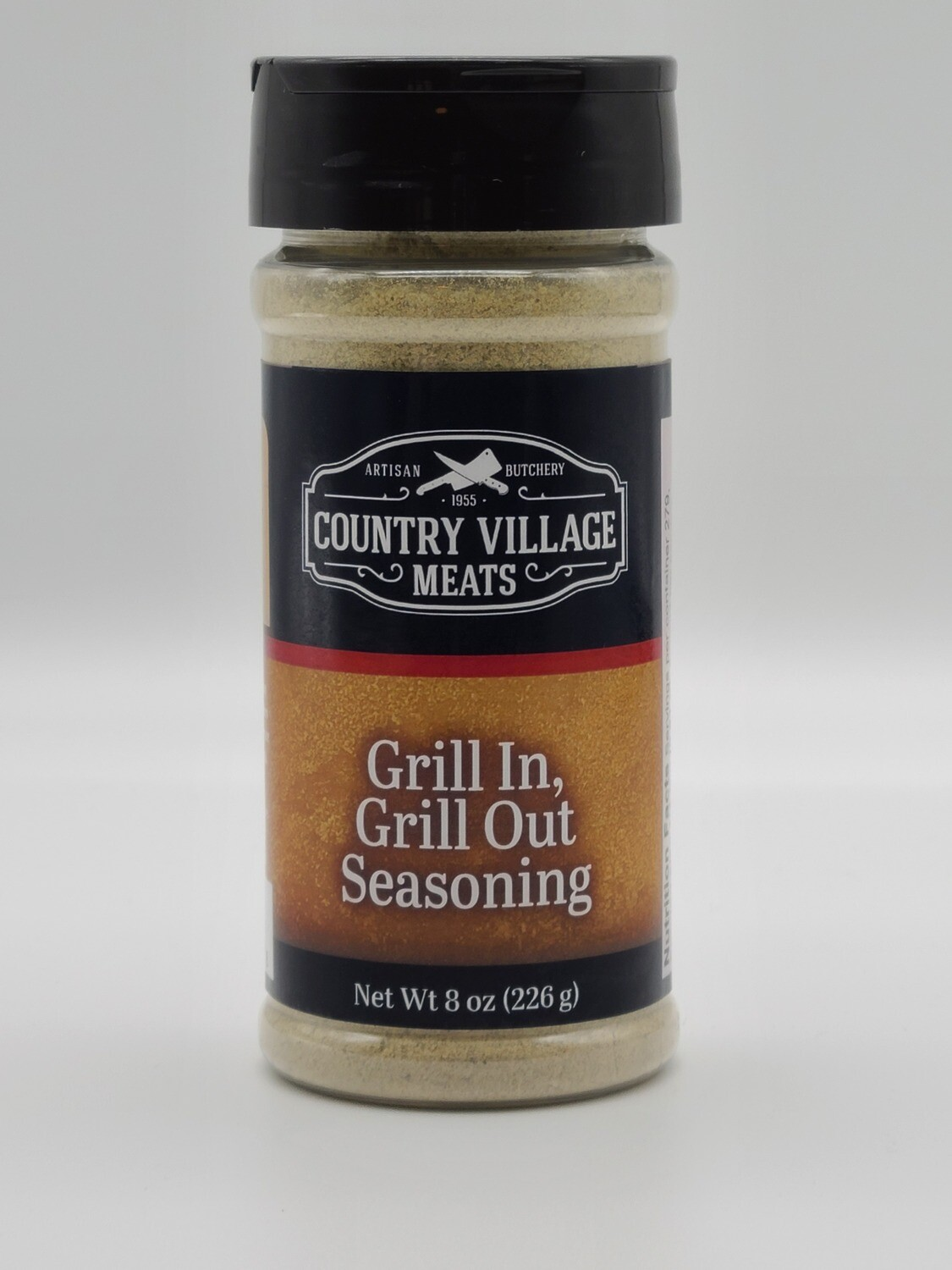 Country Village Meats - Grill In Grill Out 8 oz. Seasoning