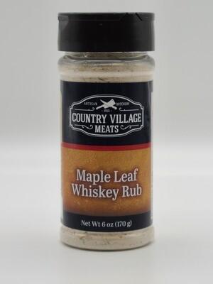 Country Village Meats - Maple Leaf Whiskey Rub 6oz.