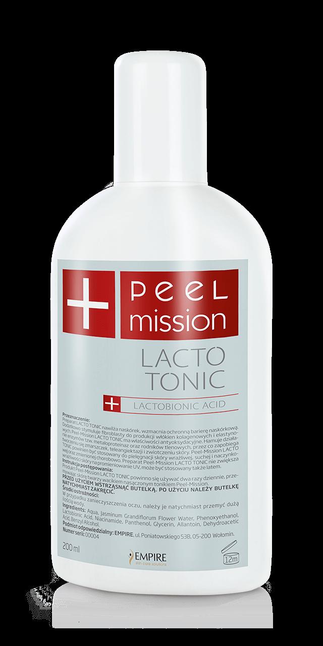 Tonik dla skór wrażliwych z kwasem laktobionowym