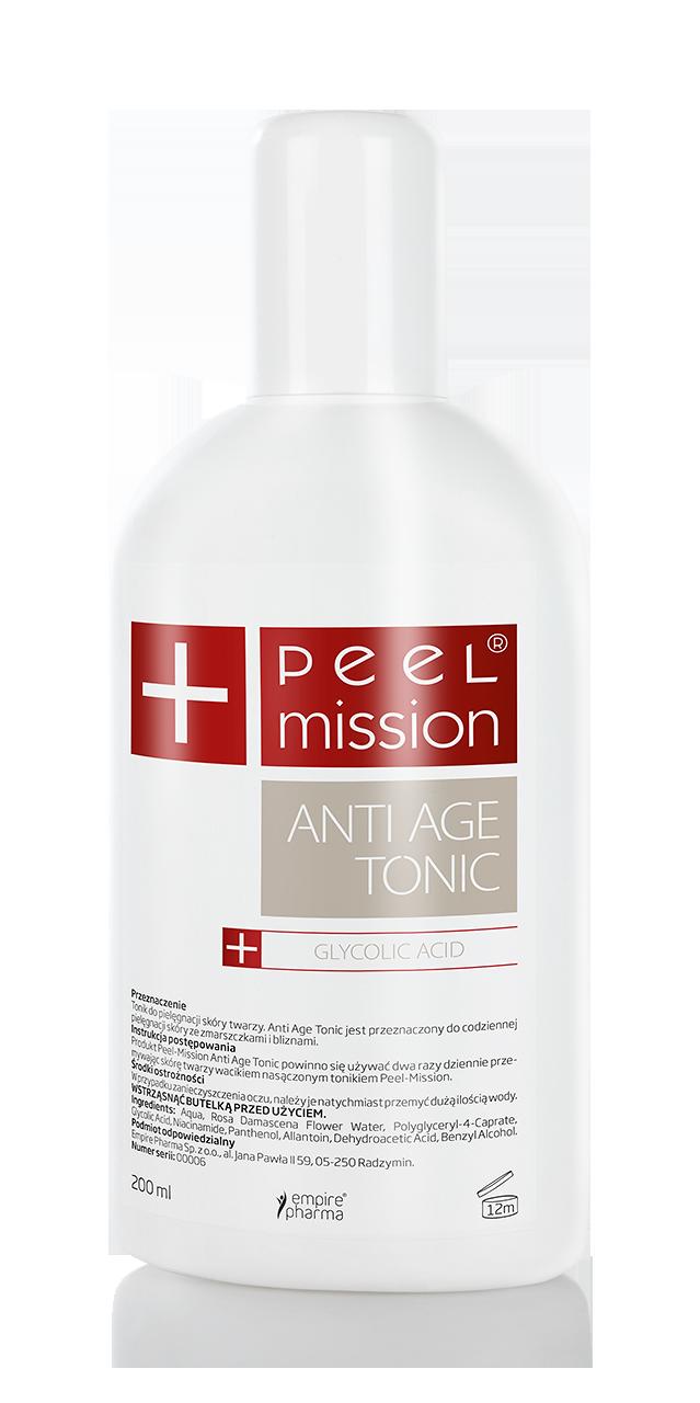 Tonik anti-age z kwasem glikolowym