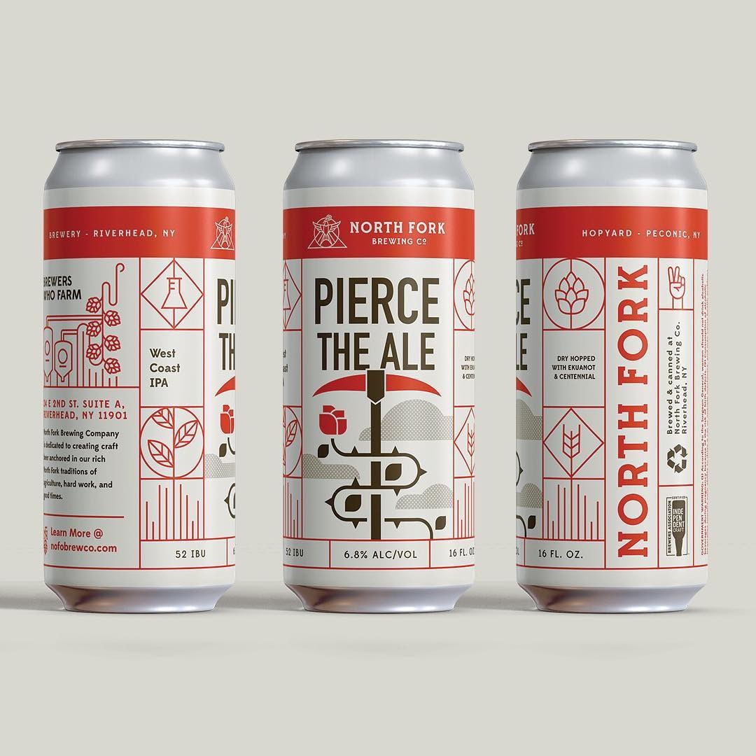 Pierce the Ale IPA: 4 Pack