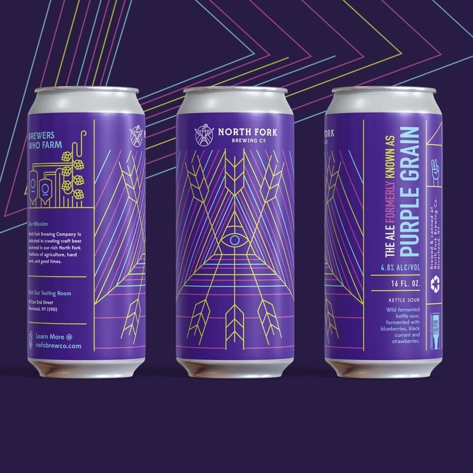 The Ale Formerly Known As Purple Grain Sour Saison: 4 Pack