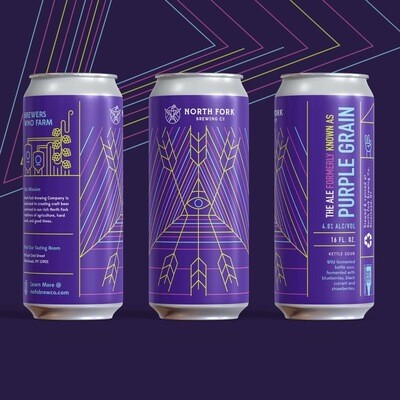 The Ale Formerly Known As Purple Grain: 4 Pack