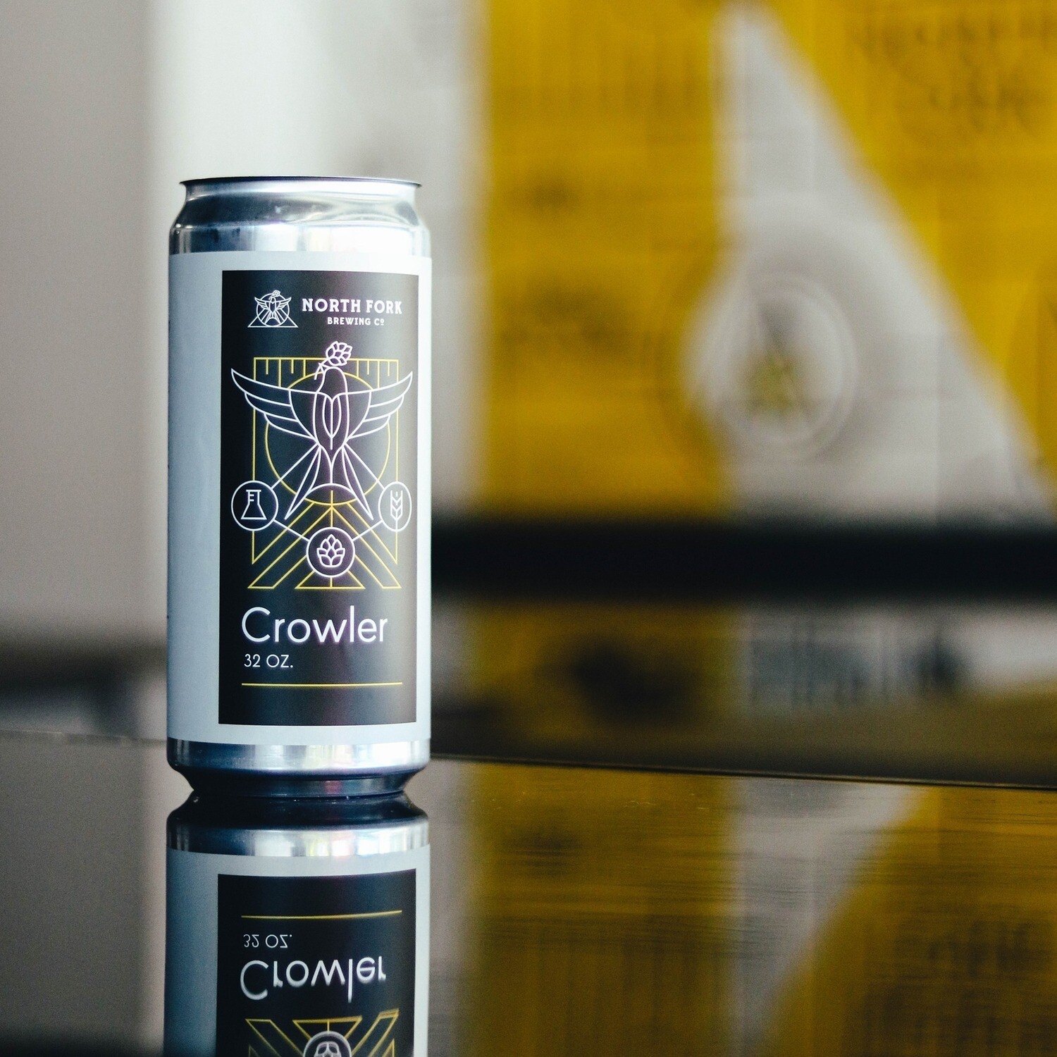 The Ale Formerly Known As Purple Grain: Crowler